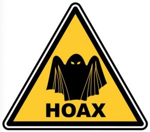 Hoax Sign Picture